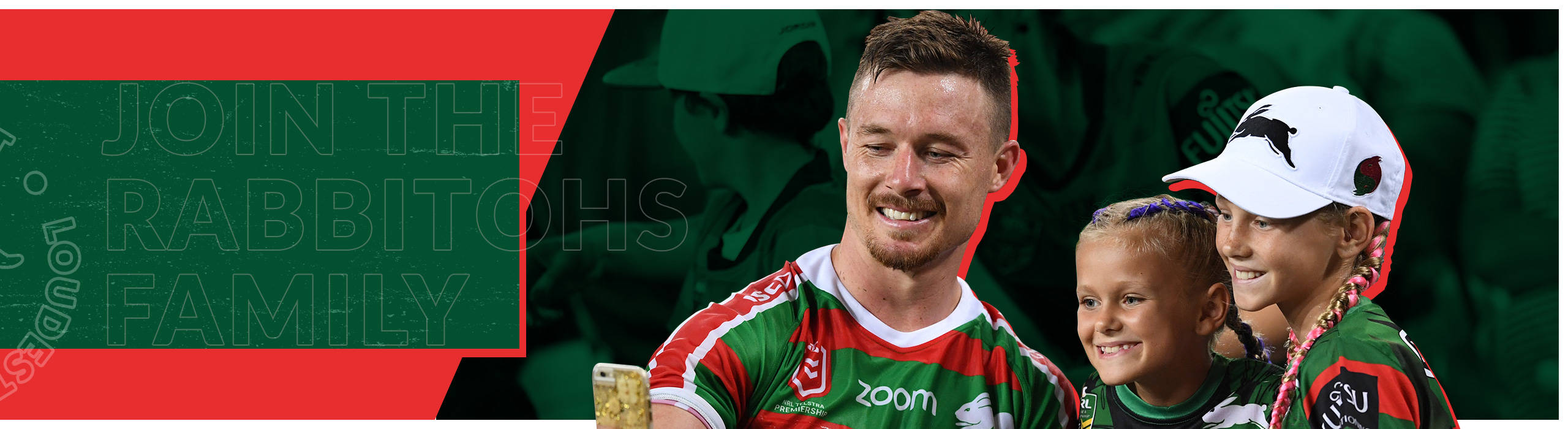 Join The Rabbitohs Family